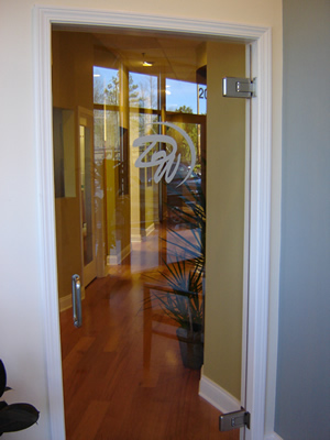 Custom Glass Entry Door